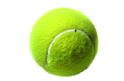 Tennis Ball. Isolated Tennis Ball royalty free stock photo