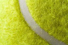 Tennis Ball. Closeup tennis ball royalty free stock photos