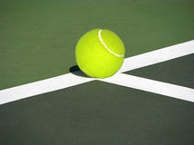Tennis ball. Royalty Free Stock Photography