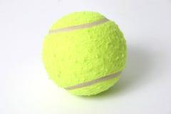 Tennis ball. On white Royalty Free Stock Photos