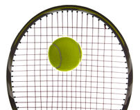 Tennis Ball in Action Royalty Free Stock Photography
