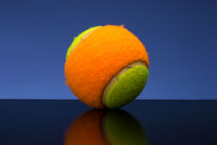 Tennis ball for children Royalty Free Stock Images