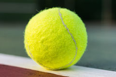 The tennis ball Royalty Free Stock Photography