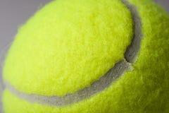 Tennis ball close up Stock Photography