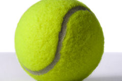 Tennis ball close up Royalty Free Stock Images