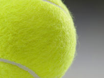 Tennis ball closeup Stock Images