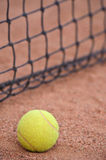 Tennis ball at the court Royalty Free Stock Images