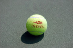 Tennis Ball (on the court (7) Stock Photos