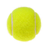 Tennis ball cutout Royalty Free Stock Photography