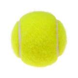 Tennis ball cutout Royalty Free Stock Photography