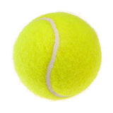 Tennis ball cutout Royalty Free Stock Photo