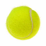Tennis ball cutout Stock Photos