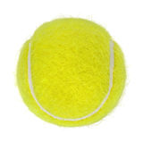Tennis ball cutout Stock Photography