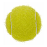 Tennis ball cutout Stock Image