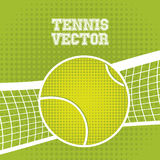 Tennis ball design Stock Images