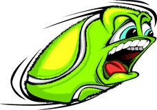 Tennis Ball Face Vector Illustration Royalty Free Stock Images