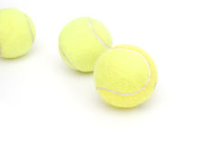 Tennis ball group Royalty Free Stock Photos