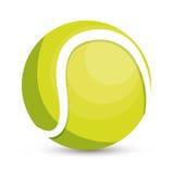 Tennis ball icon design Stock Images