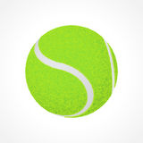 Tennis ball illustration Stock Images