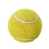 Tennis ball isolated Stock Photography
