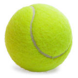 Tennis Ball isolated Stock Image