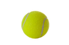 Tennis ball isolated Royalty Free Stock Images