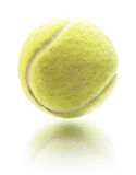 Tennis ball isolated on white Stock Photography