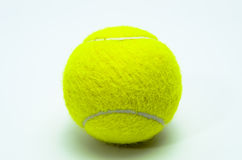 Tennis ball isolated Royalty Free Stock Image
