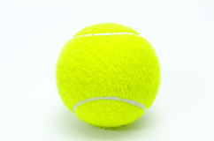 Tennis ball isolated Royalty Free Stock Photography