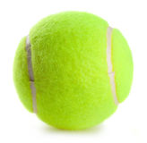 Tennis ball. Isolated on white background Royalty Free Stock Photos