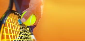 Free Tennis Ball On A Tennis Court Royalty Free Stock Photos - 54891108