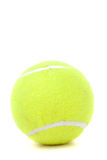 Tennis Ball Over White Stock Image