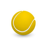 Tennis ball. Picture of tennis ball on white background, vector eps 10 illustration Royalty Free Stock Photography