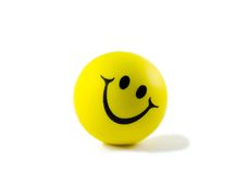 tennis ball smiles Stock Image