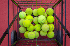 Tennis ball with sunlight. Tennis ball with blur background and sunlight Stock Images