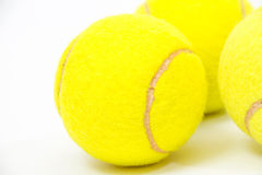 Tennis ball. Tenis ball on white background Royalty Free Stock Images
