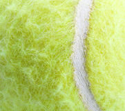 Tennis Ball the texture Stock Photos
