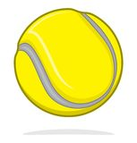 Tennis ball. Vector illustration of tennis ball Royalty Free Stock Image
