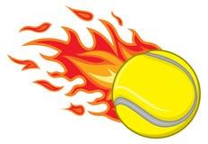 Tennis ball. Vector illustration of tennis ball Stock Photos