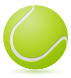 Tennis ball vector illustration Stock Image