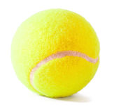 Tennis ball on the white Royalty Free Stock Photos