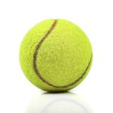 Tennis ball  on white Stock Image
