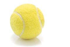 Tennis ball on white Royalty Free Stock Image