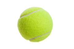 Tennis Ball. With white background royalty free stock photos