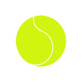 Tennis ball. On white background Royalty Free Stock Image