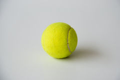 Tennis ball on white background Stock Photo