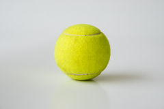 Tennis ball on white background Royalty Free Stock Image