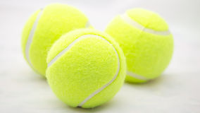 The tennis ball Royalty Free Stock Photos
