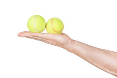 Tennis balls. Stock Photos