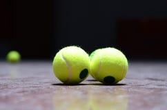 Tennis balls Royalty Free Stock Photography